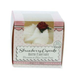 Patisserie De Bain Bath Fantasy Strawberry Cupcake Βόμβα Μπάνιου 45gr