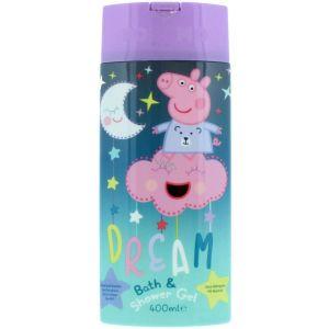 Peppa Pig Bath & Shower Gel Σαμπουάν & Αφρόλουτρο 400ml