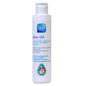 Pharmalead Baby Oil Βρεφικό Φυσικό Ενυδατικό Λάδι για Πρόσωπο & Σώμα 150ml