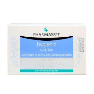 Pharmasept Hygienic Soap Bar Σαπούνι Με Ήπια Αντισηπτική Δράση 100gr