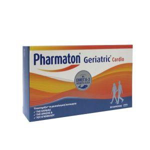 Pharmaton Geriatric Cardio Συμπλήρωμα Διατροφής Για Την Καλή Καρδιαγγειακή Υγεία 30 ταμπλέτες