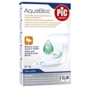 Pic Aquabloc Μετεγχειρητικό Αδιάβροχο Επίθεμα 12Cmx10Cm 5Τμχ