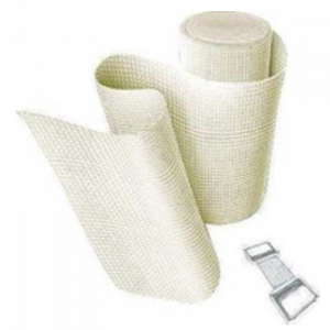 Pic Flexa Elast Ελαστικός Επίδεσμος Λευκός Γενικής Χρήσης με Κλιπ 20cm x 4.5m