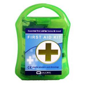 Qualicare First Aid Kit Κουτί Πρώτων Βοηθειών σε Συσκευασία Ταξιδίου 1τμχ