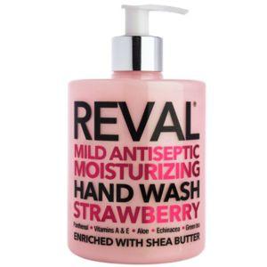 Reval Mild Antiseptic Moisturizing Hand Wash Strawberry Καθαριστικό Χεριών 500ml
