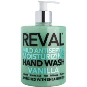 Reval Mild Antiseptic Moisturizing Hand Wash Vanilla Καθαριστικό Χεριών με Άρωμα Βανίλια 500ml