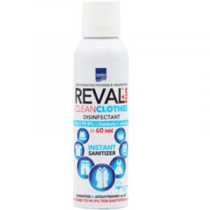 Intermed Reval Plus Υγρό Απολυμαντικό Ρούχων & Υφασμάτων Με Άρωμα Cotton Fresh 200ml