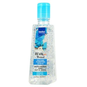 Intermed Reval Plus Natural Hand Gel Αντισηπτικό Χεριών 100ml