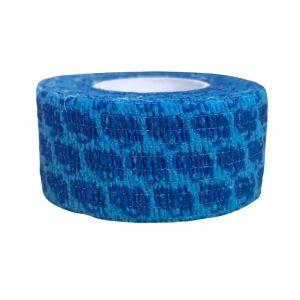 Rieger Υφασμάτινος Επίδεσμος 2,5cm x 4m Χρώμα Μπλε 1τμχ