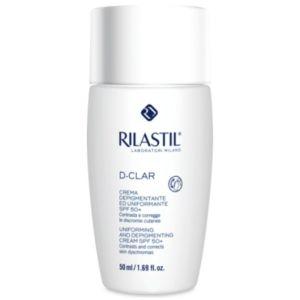 Rilastil D-Clar Αποχρωματιστική & Καλυπτική Κρέμα Spf50+ Uniforming & Depigmenting Cream 50ml