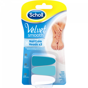 Scholl Velvet Smooth Nail Care System Refills Ανταλλακτικά Ηλεκτρικού Συστήματος Περιποίησης Νυχιών