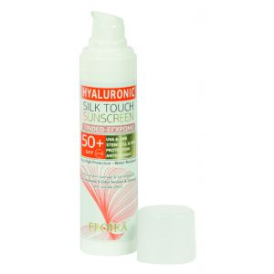 Froika Hyaluronic Silk Touch Spf 50+ Tinted Αντιηλιακή Με Χρώμα 40ml