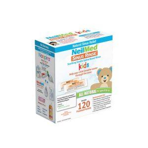 Neilmed Sinus Rinse Διάλυμα Ρινικών Πλύσεων Για Παιδιά Ανταλλακτικά Φακελάκια 120 packs