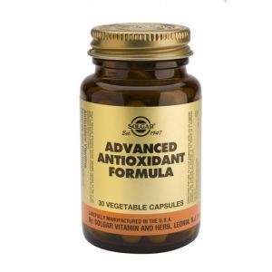 Solgar Advanced Antioxidant Formula Αντιοξειδωτική Δράση Veg. 30S