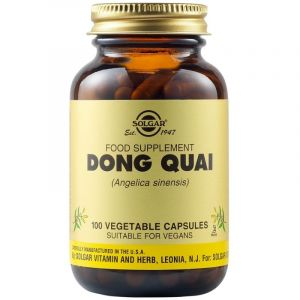 Solgar Dong Quai Εκχύλισμα Από Κινέζικη Αγγελική Για Τόνωση Του Γυναικείου Αναπαραγωγικού Συστήματος 100 Φυτικές Κάψουλες