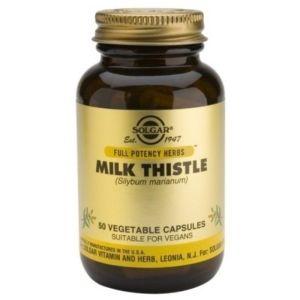 Solgar Milk Thistle Γαϊδουράγκαθο με Αντιοξειδωτική Δράση 50 Φυτικές Κάψουλες