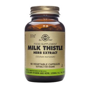 Solgar Milk Thistle Herb Seed Extract 60 Φυτικές Κάψουλες