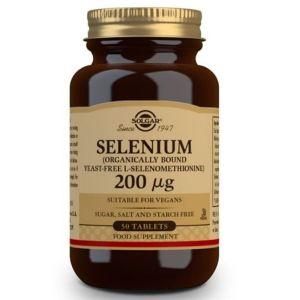 Solgar Selenium 200mg Σελήνιο Αντιοξειδωτικό για την Ενίσχυση του Ανοσοποιητικού Συστήματος 50 Ταμπλέτες