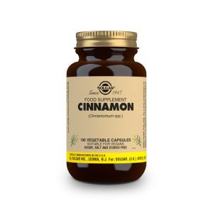 Solgar Cinnamon Vegetable Caps 100s