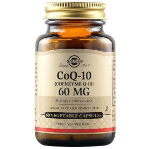 Solgar Coenzyme Q10 60mg Vegetable 30caps