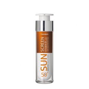 Frezyderm Sun Screen Cream To Powder Αντηλιακή Κρέμα Προσώπου Spf50+ 50ml