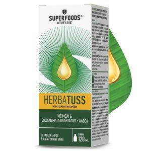 Superfoods Herbatuss Σιρόπι Για Το Βήχα 120ml