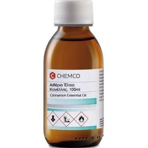 Σύνδεσμος Chemco Essential Oil Cinnamon Αιθέριο Έλαιο Κανέλας 100gr