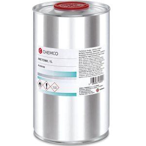 Σύνδεσμος Chemco Καθαρή Ακετόνη Aceton Φαρμακευτική1Lt