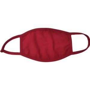 Σύνδεσμος Μάσκα Υφασμάτινη Παιδική Βαμβακερή 100% Κόκκινη 1τμχ.