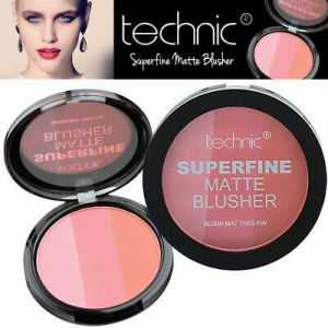 Technic Superfine Matte Blusher Compact Ρουζ 12gr