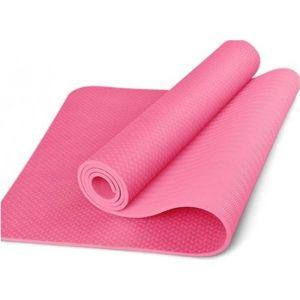 TPE Yoga Mat Οικολογικό Στρώμα Γυμναστικής Yoga-Πιλάτες Χρώμα Ροζ| Dpharmacy.g