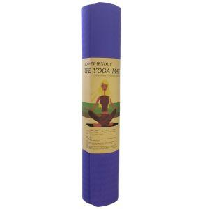 TPE Yoga Οικολογικό Στρώμα Γυμναστικής Yoga-Πιλάτες Χρώμα Βιολετί | Dpharmacy.gr
