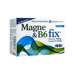 Uni-Pharma Magne & B6 Fix 30 φακελίσκοι