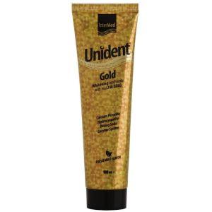 Intermed Unident Gold Λευκαντική Οδοντόπαστα 100ml
