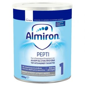Nutricia Almiron Pepti 1 Allergy Care Γάλα Για Βρέφη 0-6 Μηνών 450Gr