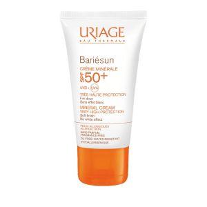 Uriage Bariesun Creme Minerale SPF 50+ Αντηλιακή Κρέμα Προσώπου 100ml