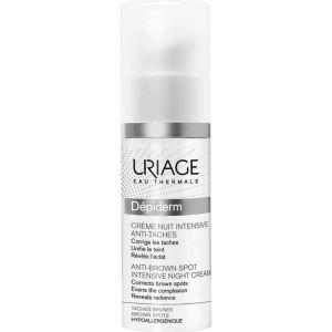 Uriage Depiderm Anti-Brown Spot Intensive Night Cream Εντατική Κρέμα Νυκτός Κατά Των Κηλίδων 30ml