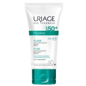 Uriage Hyseac Fluide SPF50+ Ενυδατική Κρέμα Για Λιπαρή Προς Μικτή Επιδερμίδα 50ml