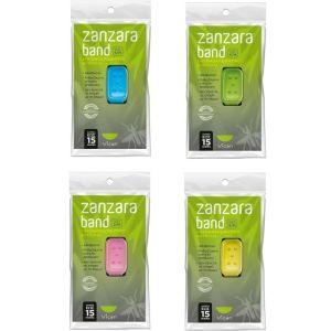 Vican Zanzara Band Εντομοαπωθητικό Βραχιόλι Σε Διάφορα Χρώματα 1 Τμχ