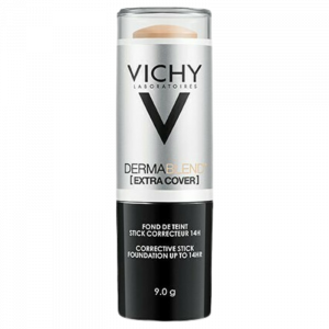 Vichy Dermablend Extra Cover Nude 25 9.0g Διορθωτικό Foundation Σε Μορφή Stick Με 16 Ώρες Διάρκεια & SPF 30