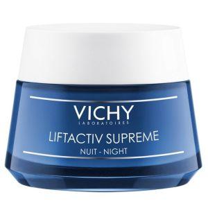 Vichy Liftactiv Night Supreme Cream Αντιρυτιδική & Συσφικτική Κρέμα Νύχτας 50ml   Dpharmacy.gr