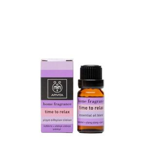 Apivita Essential Oil Blend Αιθέριο Έλαιο Time To Relax 10ml