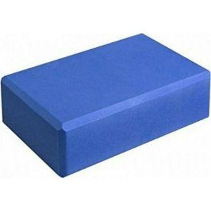 Yoga Block Τουβλάκι Ισορροπίας Μπλε 23x15x7.6 cm