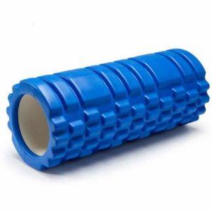 Yoga Roller Κύλινδρος για Pilates και Crossfit 33cm Μπλε 1τμχ