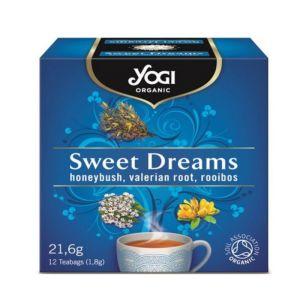 Yogi Organic Tea Sweet Dreams Τσάι Με Βαλεριάνα Για Χαλάρωση 12φακελάκια