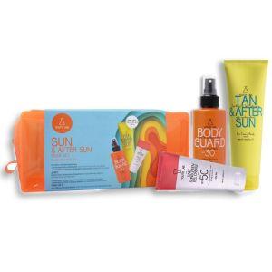 Youth Lab Πακέτο Promo Sun & After Sun Set Αντιηλιακή Κρέμα Προσώπου Spf50 50ml για Κανονικές Μικτές Επιδερμίδες & Αντιηλιακό Γαλάκτωμα Σώματος Spf30 200ml & Δώρο After Sun 150ml