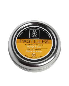 Apivita Καραμέλες Για Το Λαιμό Θυμάρι & Μέλι 45Gr