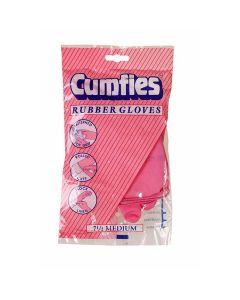 Cumfies Rubber Gloves Γαντια Λατεξ γιαΠολλες Χρησεις Medium 1 Ζευγαρι