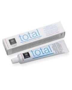Apivita Total Οδοντοκρεμα Total Δυοσμος Προπολη 75ml