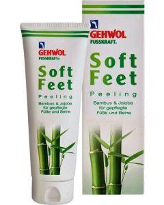 Gehwol Fusskraft Soft Feet Scrub Με Μπαμπού & Τζοτζόμπα 125ml